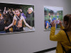 Alcune opere in esposizione in occasione della Mostra Martin Parr we love sports