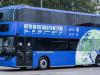 Autobus elettrico Cop26 inizia roadshow a Glasgow