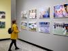 La mostra Martin Parr we love sports allestita presso La Camera centro italiano per la fotografia a Torino