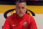 Francesco Baldini, allenatore del Catania