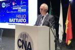 Il presidente di Cna Sicilia, Nello Battiato