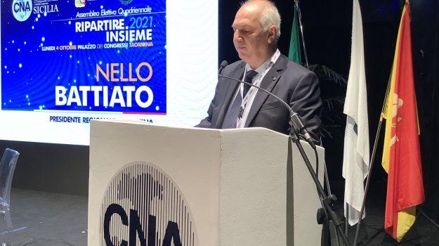 Nello Battiato, Salvatore Malandrino, Messina, Economia