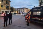Controlli dei carabinieri nel centro di Messina