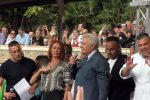 Angelo Giorgianni sul palco di Roma