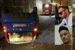 L'incidente di Taormina. Nelle foto piccole le due vittime: sopra Roberto Spadaro e sotto Antonio Russo
