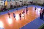 Funivia dell'Etna Catania contro MedTrade Volley Palermo (frame video Facebook società catanese)