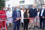 L'inaugurazione del Villaggio della salute
