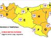 Maltempo, mezza Sicilia in allerta arancione: anche Palermo e Trapani a rischio temporali