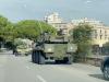 Palermo, 3 carri armati dell'esercito tra le auto: sorpresa in viale Regione
