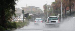 La circonvallazione di Catania allagata