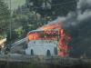 In fiamme pullman dell'Ast in viaggio fra Trapani e Buseto: in salvo pendolari e studenti a bordo
