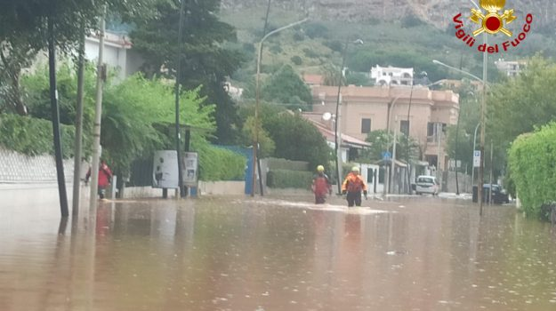 Maltempo, Sicilia, Cronaca