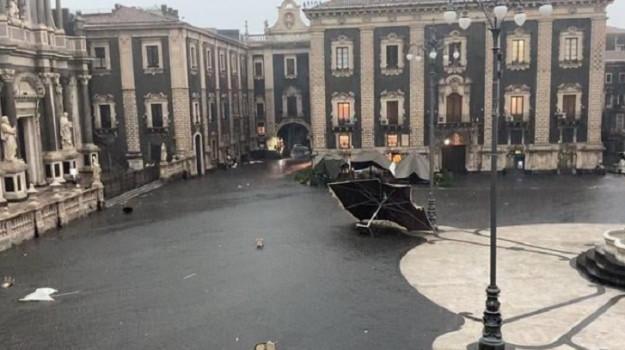 Maltempo, Catania, Cronaca