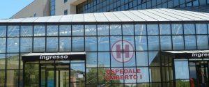 L'ospedale Umberto I di Enna