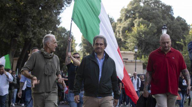 No green pass, Giuliano Castellino, Luigi Aronica, Roberto Fiore, Sicilia, Cronaca