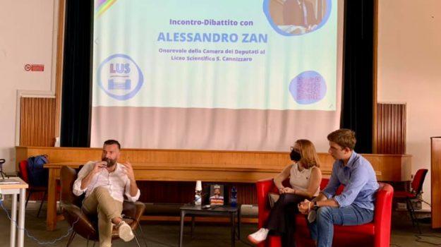 ddl zan, Alessandro Zan, Palermo, Politica