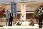 Il giudice Livatino commemorato sul luogo dell'omicidio