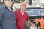 Volontariato a Favara, disabili in giro con auto d'epoca