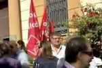 Agrigento, sit-in dei dipendenti Inps-Inpdap