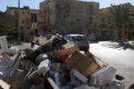 La protesta dei netturbini ad Agrigento: le immagini