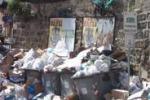 Agrigento di nuovo sommersa dalla spazzatura