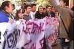 Proteste, studenti in piazza ad Agrigento