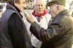 Agrigento, pensionati manifestano in piazza