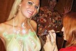 Tendenze, spettacolo di body painting a Favara