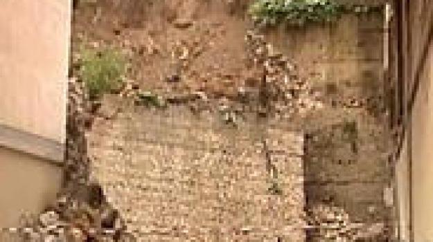 crollo casa agrigento, terravecchia, via Barone agrigento, Agrigento, Cronaca