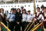 Crocieristi in visita ad Agrigento e Porto Empedocle