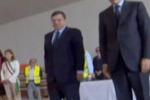 Lampedusa, Barroso e Letta commossi davanti alle bare