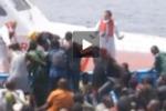 Nuovo maxi sbarco a Lampedusa: il servizio di Tgs