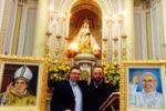 Esposti due dipinti di Papa Francesco a Sambuca di Sicilia