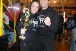 Kick boxing, il trionfo della licatese Gloria Peritore