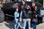 A Ribera un Monster truck realizzato con pezzi da riciclo