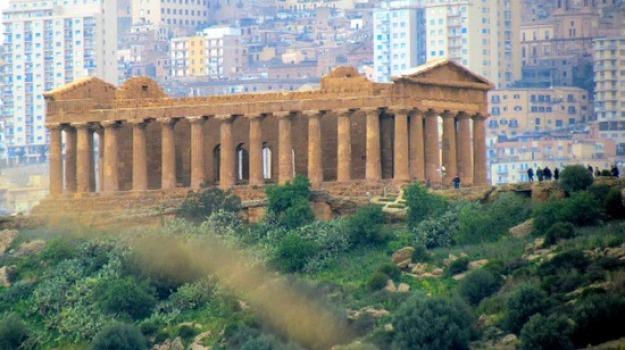 turismo valle dei templi, Agrigento, Economia