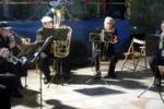 """Il """"Ribeira Brass Quintet"""" in concerto a Ribera"""