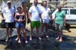 Palma, spiaggia liberata da due tonnellate di plastiche