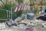 Canicattì, tombino rotto e rifiuti in via Argento