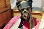 Arte e foto. Le mummie di Burgio, testimoni del passato