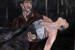 Bob Dylan pittore, a Milano i dipinti del musicista