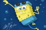 I campioni olimpici in versione SpongeBob: quadri all'asta
