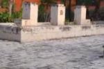 Gela, fontana abbandonata nel quartiere Macchitello