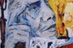 Guadagnuolo, l'artista nisseno dipinge Obama