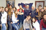 Caltanissetta, gli studenti incontrano le forze dell'ordine