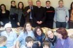 I bambini di Caltanissetta a pranzo con il sindaco