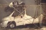 Caltanissetta: rogo in viale Regina Margherita, devastati camper e roulotte