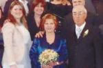 Salvatore e Rosaria, 50 anni insieme: festa a Gela