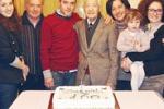 I 100 anni di nonno Francesco: festa a Niscemi