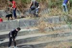 Volontari a Gela ripuliscono l'Orto Pasqualello